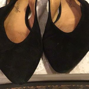 Free People Shoes - Free People- Pointy Toe Suede Slingback